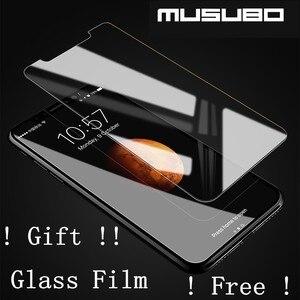 Image 5 - Musubo Ultra Slim Phone Case for iPhone X 7 Plus Genuine Leather Luxury Cases Cover for iPhone 8 6 Plus 6s S9 Plus S8 Flip capa