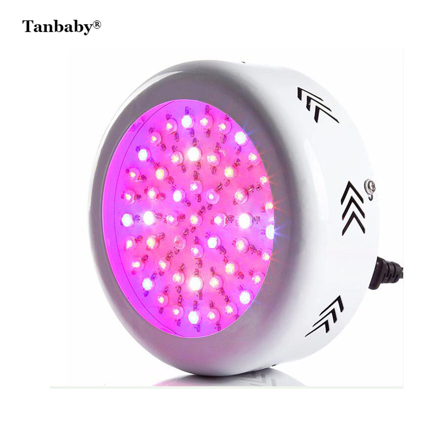 72pcs 55W LED Chips UFO Full Spectrum LED Grow Light Hydroponics Plants Vegetable Growth Lamp for Plant Growth & Flowering tent 5pcs lot 90w ufo led grow light led horticulture lighting 9bands led lamp best for medicinal plants growth and flowering