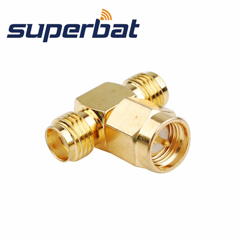 Superbat RF SMA Splitter / Joiner 3 WAY ADAPTER