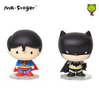 Mr.Froger 5cm Action Figure Mini Anime Chibi Dolls Toy PVC Cute Figurine POP Super Heroes Superheroes Kawaii Doll Anime Figuring
