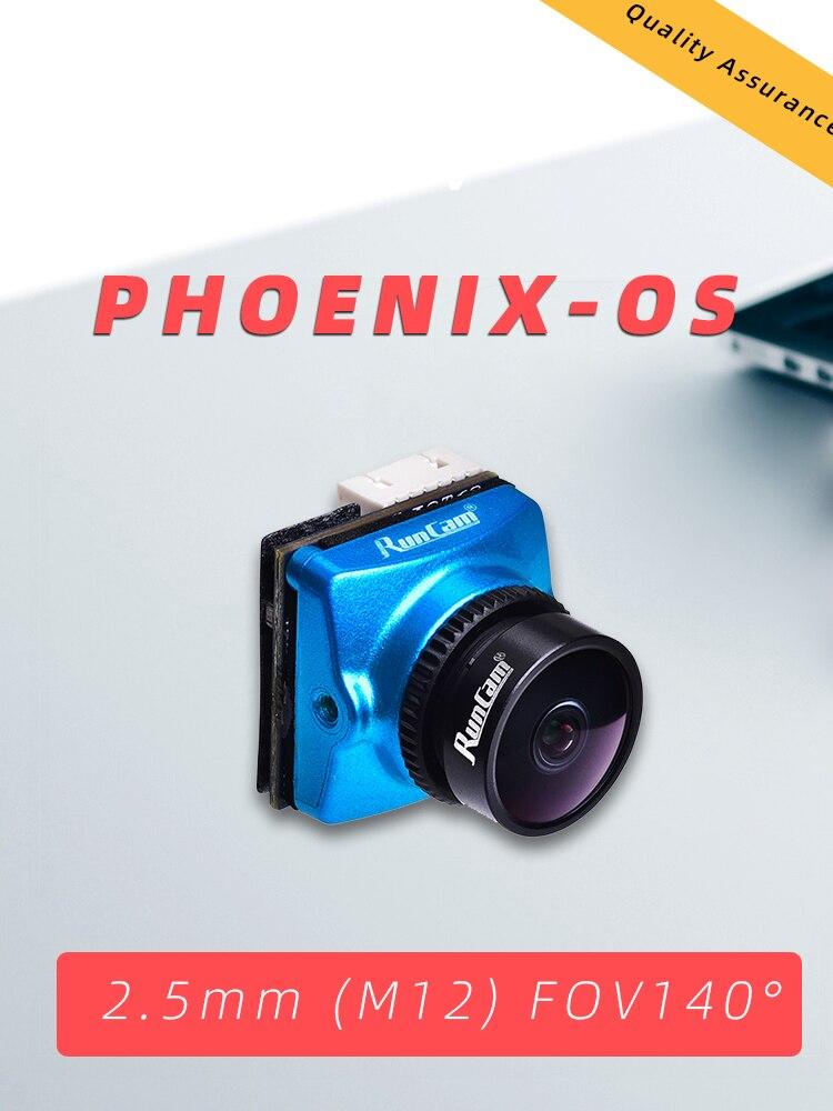 RunCam PHOENIX OS Edition 1000TVL FPV Camera 2 5mm Lens 1 3 120dB WDR Sensor NTSC