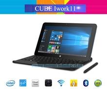 "10.6"" IPS Cube Iwork11 Stylus Windows 10 +Android 5.1 Tablet PC 1920×1080 Intel Atom X5-Z8300 Quad Core HDMI 2.0MP+5.0MP Camera"