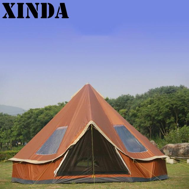 New Experience C&ing Tent Mongolian Yurts Outdoor Instant Family Waterproof Hiking Tents Shelter DH0234 & New Experience Camping Tent Mongolian Yurts Outdoor Instant Family ...