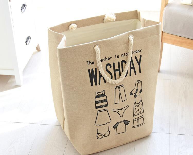 Shporta e rrobave për lavanderi Shporta e rrobave të ndyra - Magazinimi dhe organizimi në shtëpi