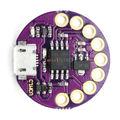 2 pcs micro usb lilypad lilytiny attiny85 módulo placa de desenvolvimento wearable