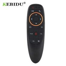 Kebidu G10 odpowiednio zaplanować podróż Air Mouse 2.4GHz bezprzewodowa Mini pilot zdalnego sterowania G10s dla Gyro Sensing gry z funkcją sterowania głosem dla Tv Box z androidem