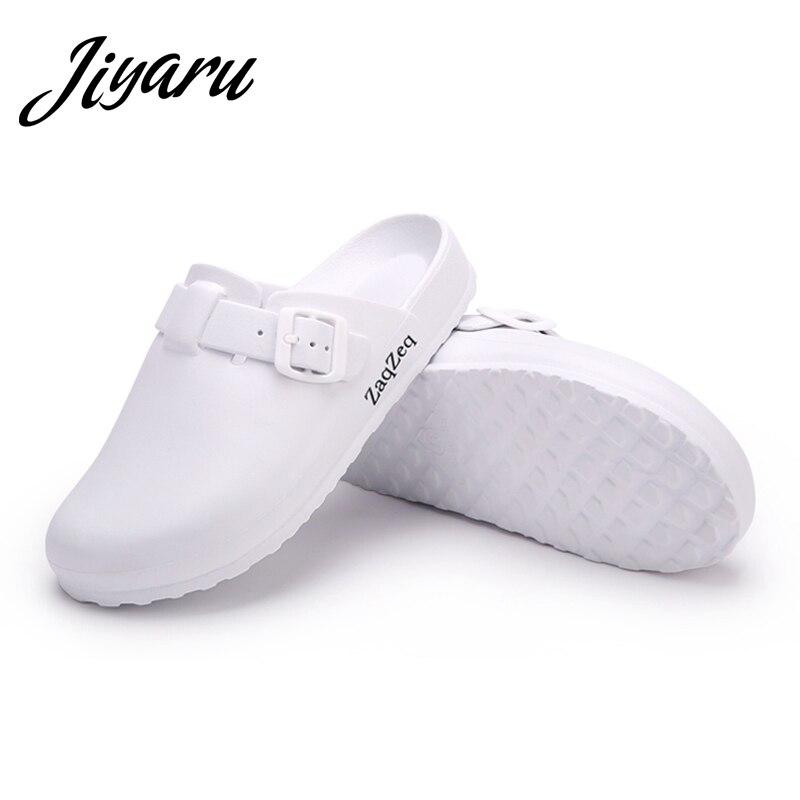Frauen Casual Hausschuhe Medizinische Ärzte Krankenschwestern Chirurgische Schuhe Arbeiten Flache Hausschuhe Op Labor Hausschuhe Damen Mode Schuhe
