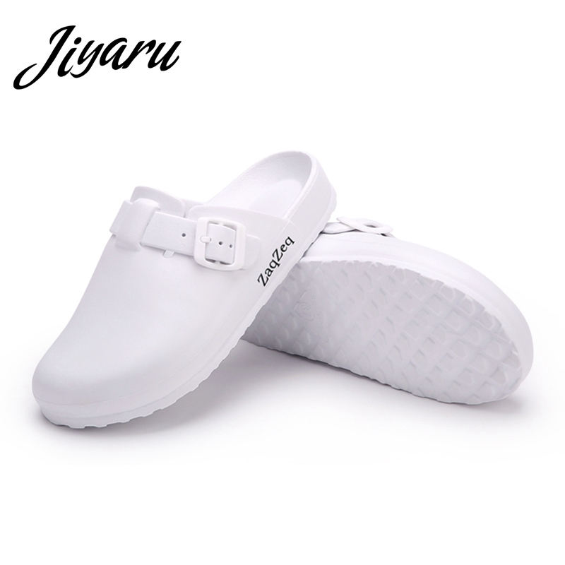 Women Casual Slippers Medical Doctors Nurses Surgical Shoes Work Flat Slippers Operating Room Lab Slippers Ladies Fashion Shoes