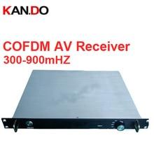 video receiver digital COFDM av transceiver portable video receiver Image transmission receiver 300 900mhz receiver for