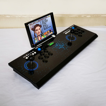 HD 2222 games Double game console,Pandora's Box 9D arcade board machine,joystick game controller, support VGA HDMI output