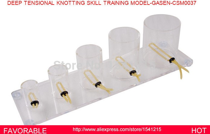 US $240 0 |MEDICAL TRAINING CARE SUPPLIES SURGICAL TRAINING MEDICAL NURSING  DEEP TENSIONAL KNOTTING SKILL TRAINING MODEL GASEN CSM0037-in Medical