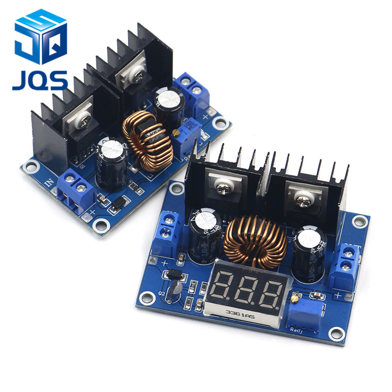 XL4016 LED Voltmeter PWM Adjustable 4-36V To 1.25-36V Step-Down Board Module Max 8A 200W DC-DC Buck Converter Power Supply