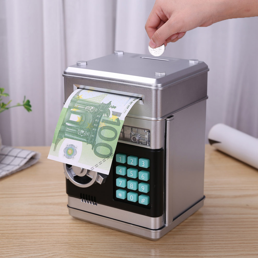 Digital Piggy Bank - Safe Deposit Box for Kids 1