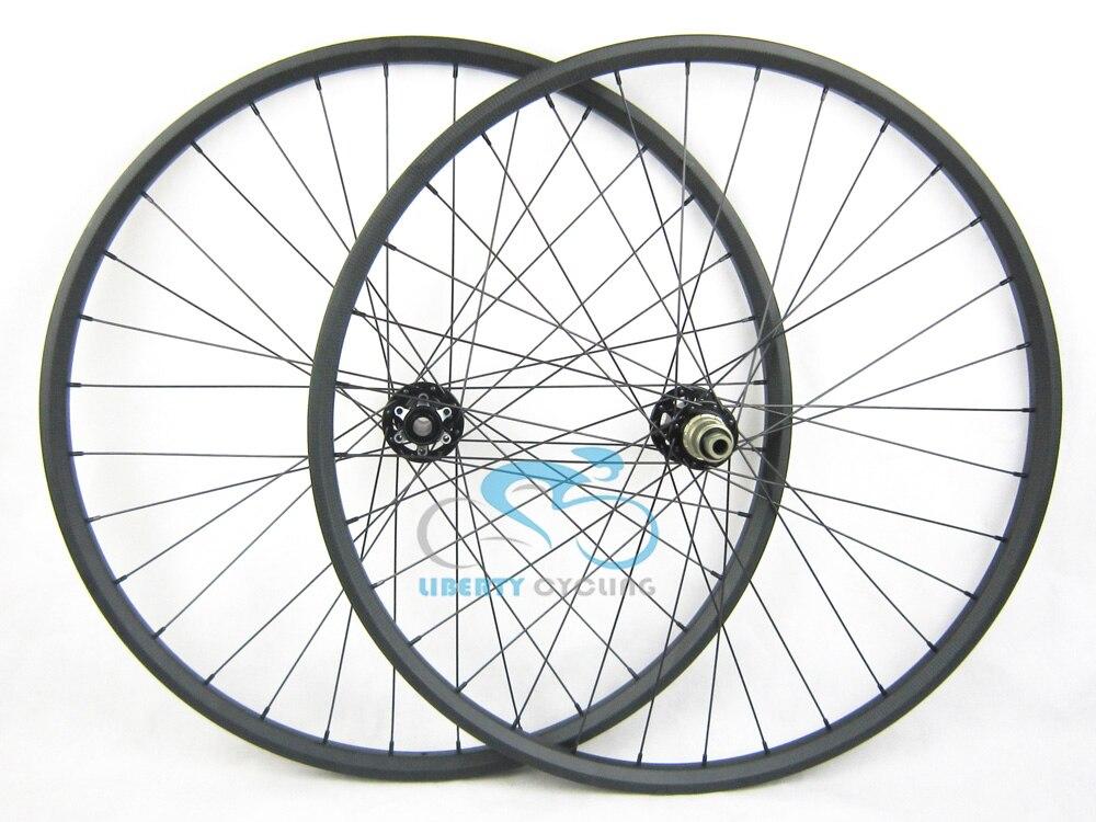 29er carbon mountain bike rim 35mm wide mtb carbon rim design for XC AM