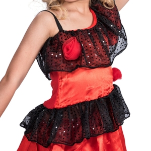 Image 5 - Spanish Senorita Girls National Fancy Dress Childs Flamenco Dancer Kids Costume