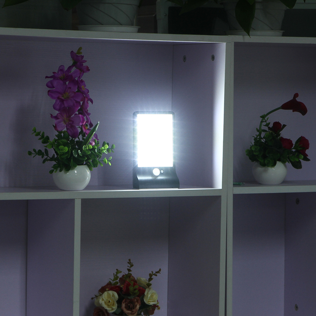 450LM 36 LED Solar Power Street Light PIR Motion Sensor Lamps Garden Security Lamp Outdoor Street Waterproof Wall Lights
