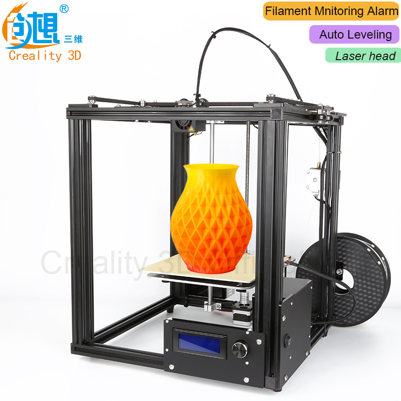 Core-XY structure !!! CREALITY 3D Ender-4 Auto Leveling Laser 3D printer Kit Filament Monitoring Alarm Potection 3D Printer kam xy laser rbp