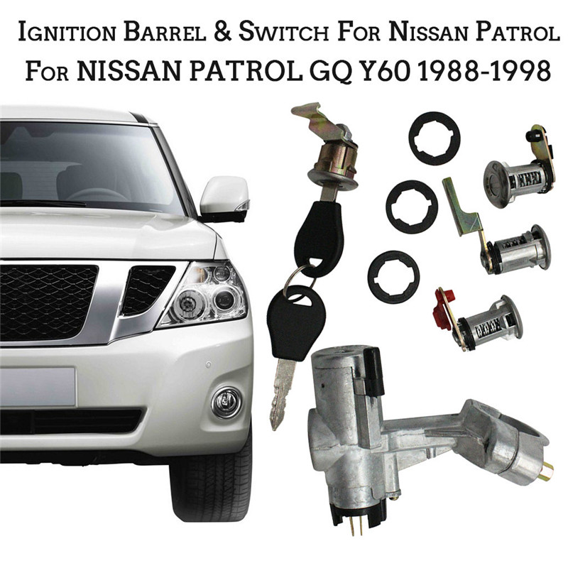 CARPRIE Ignition Switch Ignition Barrel Switch For Nissan Patrol GQ Y60 2 X Door Barn 88