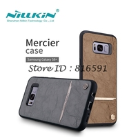 Sfor Samsung Galaxy S8 Plus Case Nillkin Classic PU Leather PC Hard Back Cover Case For