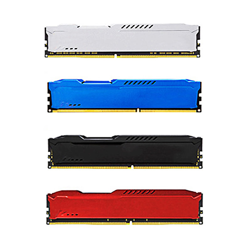 Newest X Computer Components King Memory Heatsink Case Compatible Main Desktop PC DDR,DDR2,DDR3,DDR4 Main Chassis RAMs Cooling