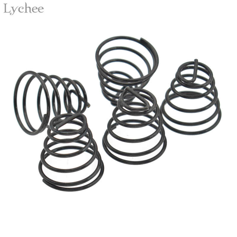Lychee 5pcs Industrial Sewing Machine Spring Sewing Accessories Thread Tension Spring Household Sewing Machine Thread Tension
