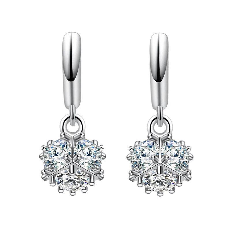 Top Quality Fashion Jewelry 2017 New Design Super Shiny CZ