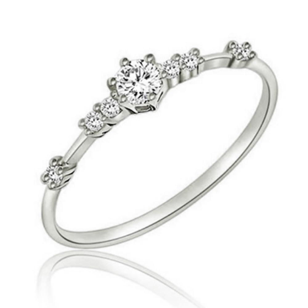 Octbyna Горячая Корона и в форме сердца стильные брендовые кольца для женщин вечерние кольца на палец для женщин очаровательные подарочные украшения Прямая поставка - Цвет основного камня: A11
