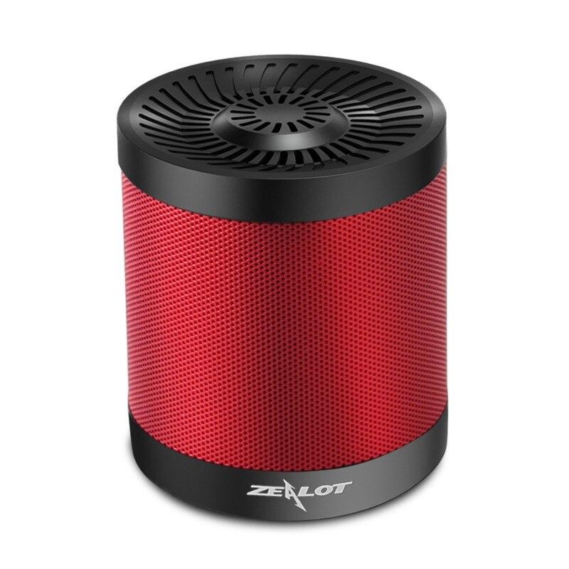 Zealot S5 Altoparlante USB MP3 TF Card HiFi Stereo Mini Radio Speaker Bluetooth Speaker Enceinte Bluetooth Portable Lautsprecher