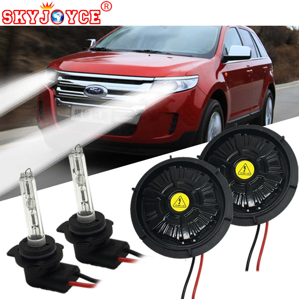 SKYJOYCE NO Error canbus 55W 9012 hid xenon kit Edge headlight 9012 bi-xenon kit 6000K HIR2 9012 xenon projector bulb bright