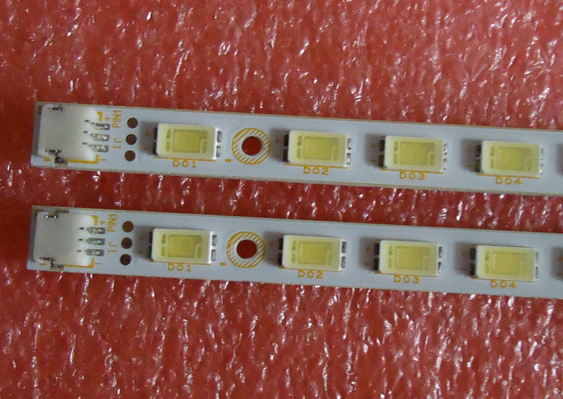 FOR Changhong ITV42839E Article Lamp 73.42T09.01B-4 73.42T09.02B-4 42T09-05B 1piece=52LED 472MM 2piece/Lot