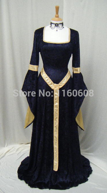 ELVEN DRESS Medieval Renaissance Fairy Dress Custom Made All Size