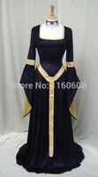 ELVEN DRESS Medieval Renaissance Fairy Dress Custom Made All Size