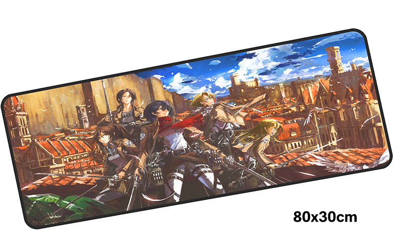 Advancing Titans mousepad gamer 800x300X3MM gaming mouse pad Mass pattern notebook pc accessories laptop padmouse ergonomic mat