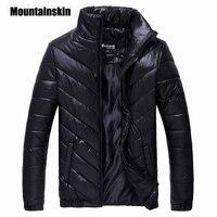 Mountainskin 2018 Brand Winter Jacket Men's Parkas Warm Jacket 5XL Casual Coats Men Cotton Padded Jacket Male Clothing EDA086
