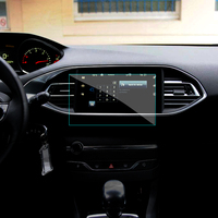 9 7 Inch Car GPS Navigation Screen Tempered Steel Protective Film For Peugeot 308 408 508
