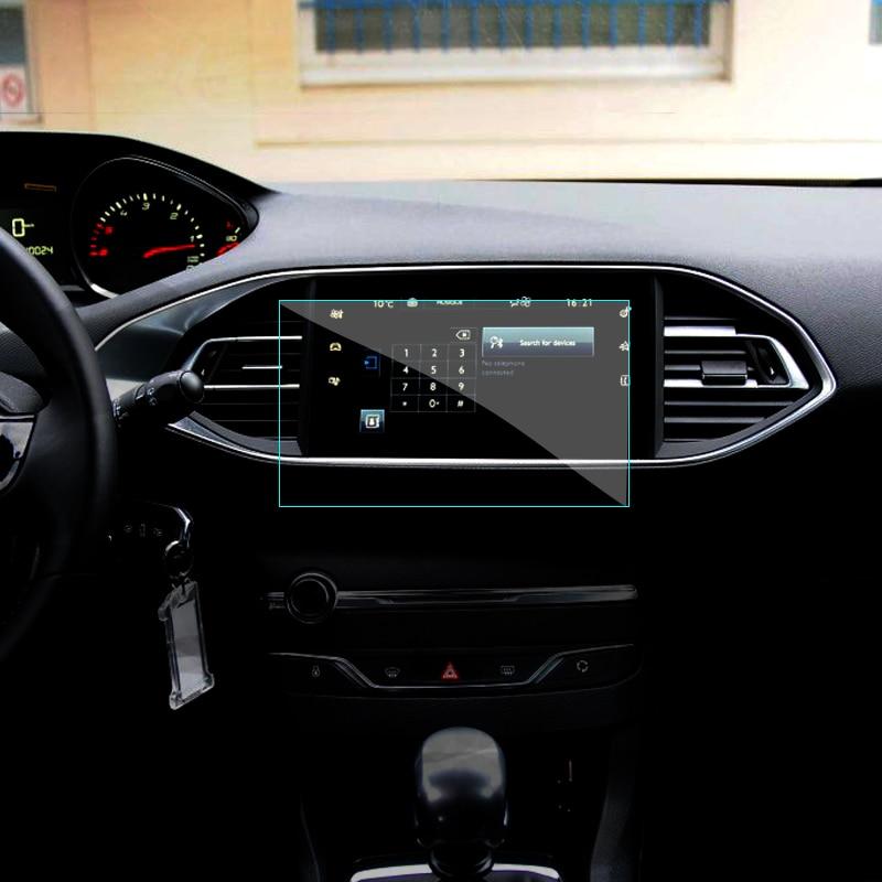 9,7 zoll Auto GPS Navigationsbildschirm Gehärtetem Stahl Schutzfolie Für Peugeot 308 408 508 208 308 S Kontrolle der Lcd-bildschirm Aufkleber
