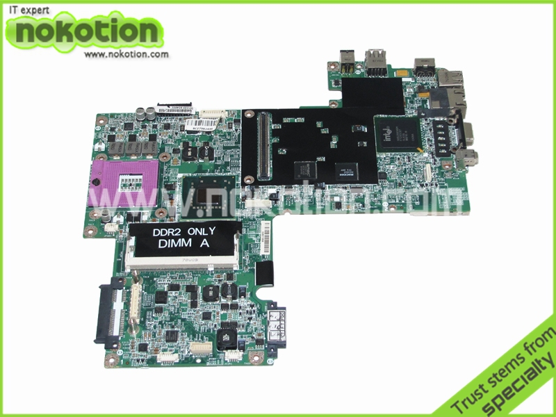 ФОТО WP044 CN-0WP044 For Dell inspiron 1520 vostro 1500 Laptop motherboard Intel 965PM DDR2 with graphics slot High Quality
