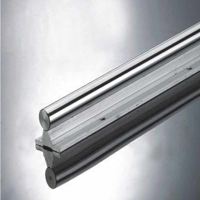 SBR16 linear guide rail length 300mm chrome plated quenching hard guide shaft for CNC