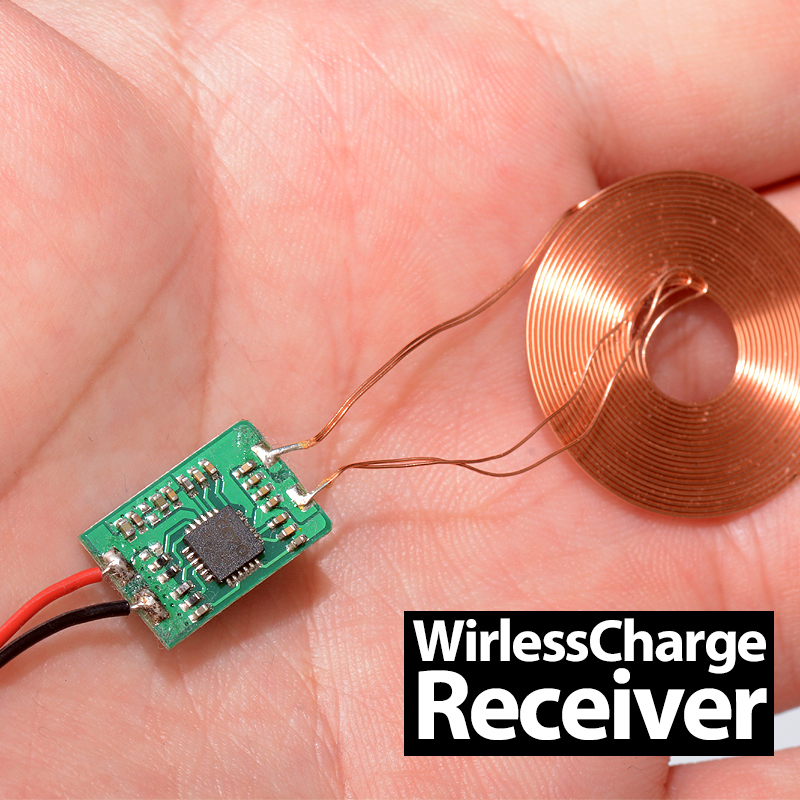 Qi Standard DIY Wireless Charging Coil Receiver Module Circuit Board Wireless Charging