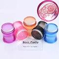 1 Unid 3.9 Cm Clear Jelly Silicona Stamper y BORN PRETTY Raspador Sello Manicura Juego de Herramientas