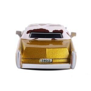 Image 4 - Disney Pixar Cars 3 Cars 2 Tex Dinoco Metal Diecast Speelgoed Auto 1:55 Lightning McQueen Losse Brand New Op Voorraad gratis Verzending