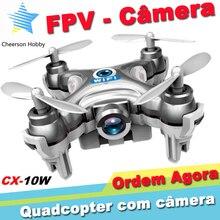 Mini Drone with Camera hd Cheerson CX-10W Quadcopter 2.4g