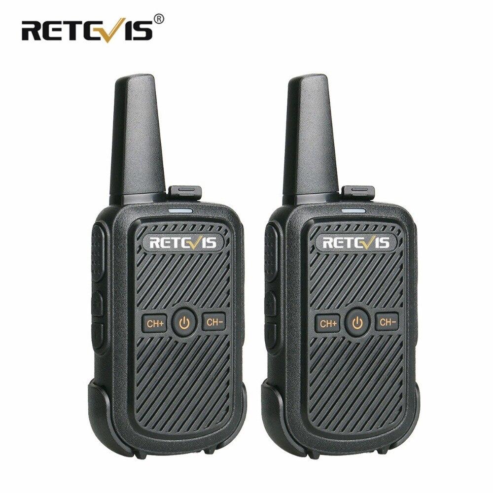 2 pcs Retevis RT15 Mini Talkie Walkie Portable Two Way Radio 2 W UHF VOX Scrambler USB De Charge Hf Émetteur-Récepteur hôtel/Restaurant