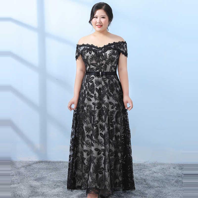 011afefe6b1d6 It's YiiYa Evening Dress 2018 Boat Neck Short Sleeve Plus Size Fashion  Designer Flower A-Line Girls Party Dress DM052