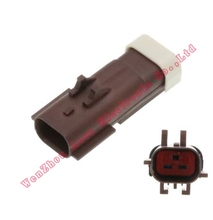 цена на 5SET DJ7026C-2.8-11 male Connector cable Terminal plug connectors jacket auto Plug socket 2 pin female Connector automotive