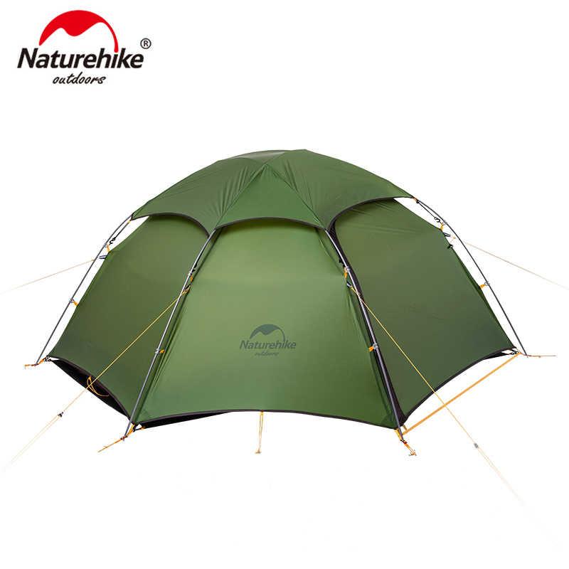 Naturehike Cloud Peak เต็นท์ Ultralight Two Man camping เดินป่ากลางแจ้ง NH17K240-Y