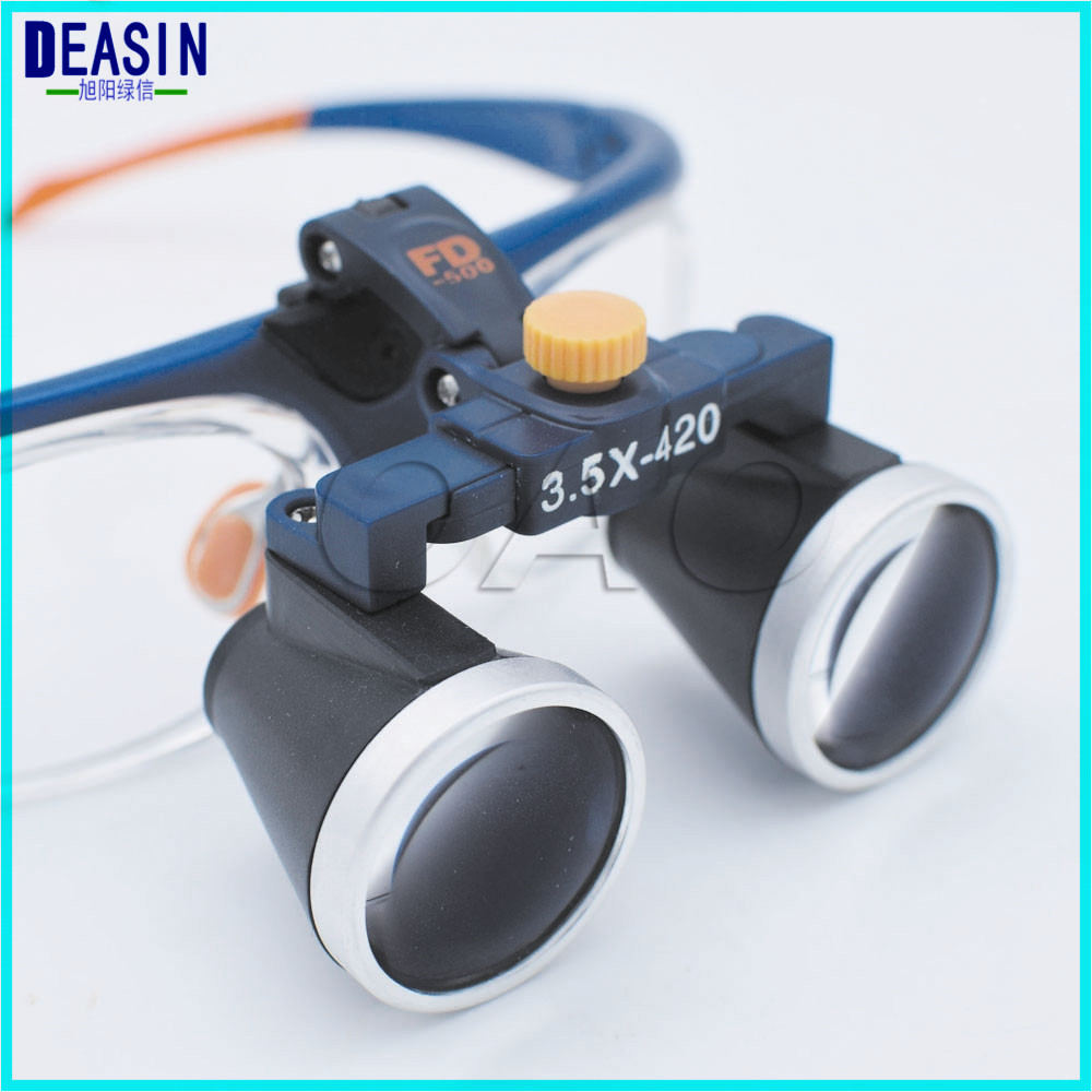 High Quality Ultra-Light 2.5X3.5X4X5X6X Medical magnifying glass Surgical loupes Dental Loupes medical loupes head loupes 503-G ultra light 3 5x medical magnifying glass surgical loupes dental loupes medical loupes with led light fd 503 g 1