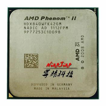 Amdのphenom ii x4 840 3.2 ghzクアッドコアcpuプロセッサHDX840WFK42GMソケットam3