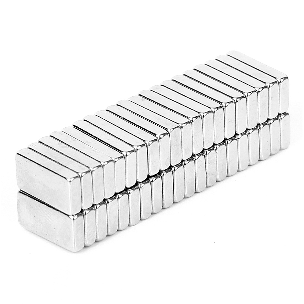 40Pcs/set Industrial N42 Super Strong Permanent Square Rare Earth Neodymium  Magnets Block Powerful Magnetic Bulk 10 x 5 x 2mm 2015 20pcs n42 super strong block square rare earth neodymium magnets 10 x 5 x 1mm magnet wholesale price