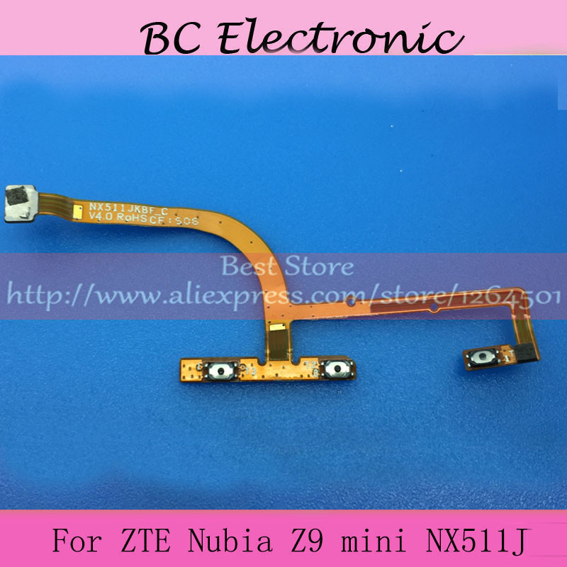 Original for ZTE Nubia Z9 Mini NX511J Power ON OFF Volume Key Side Button Switch Flex Cable Ribbon Replacement Repair Parts